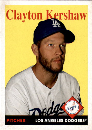 Photo of 2019 Topps Archives #51 Clayton Kershaw