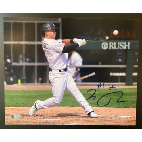 Nick Madrigal Autographed Photo