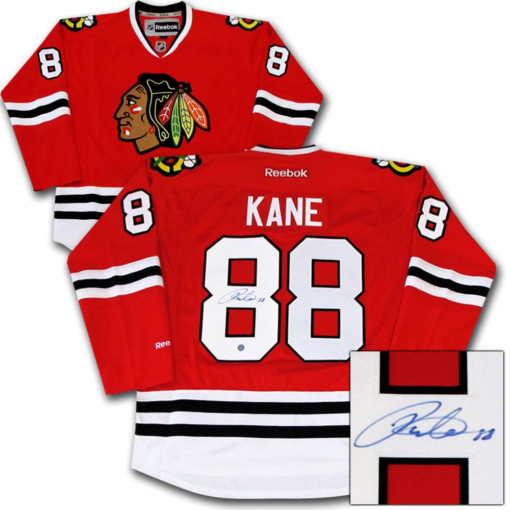 Patrick Kane Autographed Chicago Blackhawks Jersey