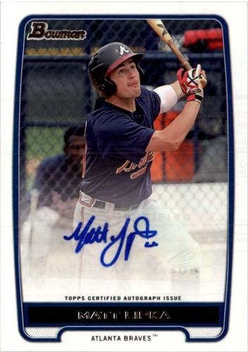 Photo of 2012 Bowman Prospect Autographs #ML Matt Lipka