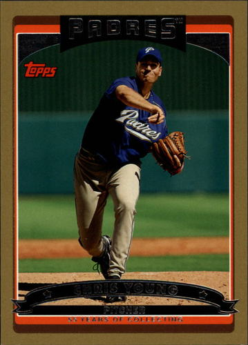 Photo of 2006 Topps Gold #542 Chris Young