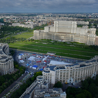Photo of Run the Bucharest Marathon Around The Largest Building In Europe - click to expand.