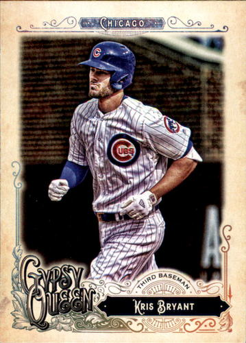 Photo of 2017 Topps Gypsy Queen #1 Kris Bryant