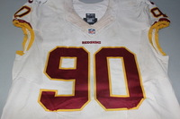 NFL INTERNATIONAL SERIES - REDSKINS EVANDER HOOD GAME WORN REDSKINS JERSEY (OCTOBER 30, 2016)