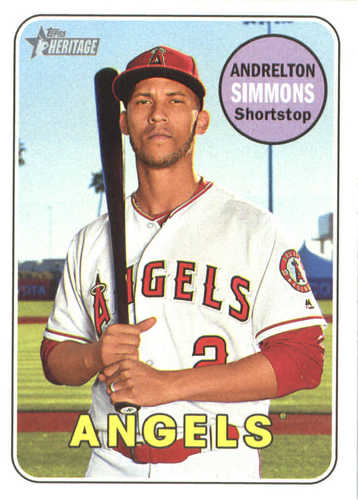 Photo of 2018 Topps Heritage #29 Andrelton Simmons
