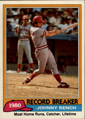 Photo of 1981 Topps #201 Johnny Bench RB