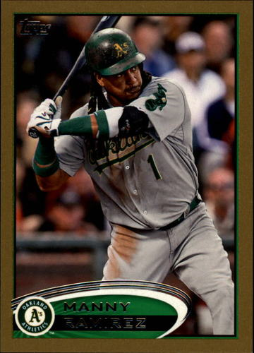 Photo of 2012 Topps Gold #393 Manny Ramirez