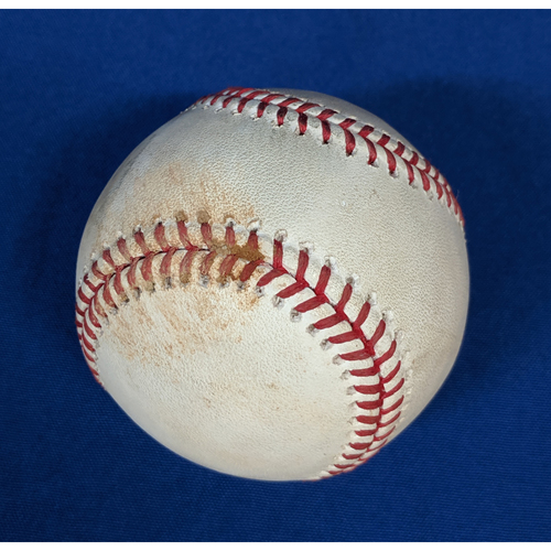 Photo of Game-Used Ball: Jared Walsh 1st Career Double and Luis Rengifo 2 RBI Single May 26th 2019