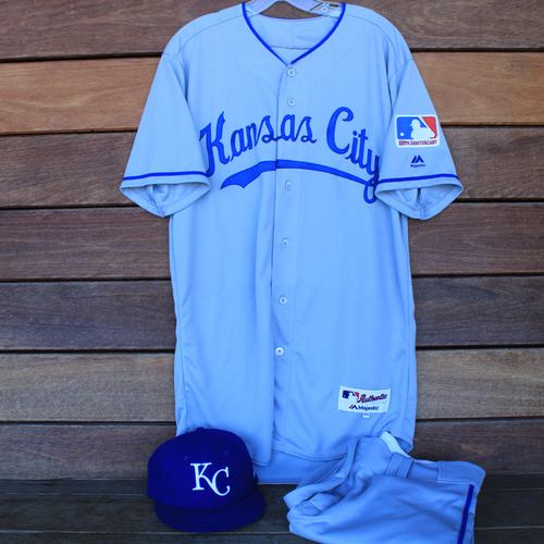 Photo of Game-Used 1969 Throwback Jersey, Pants and Cap Terrance Gore (Jersey Size 44 - KC @ WSH  - 7/6/19)