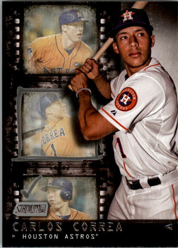 Photo of 2016 Stadium Club Contact Sheet #CS9 Carlos Correa