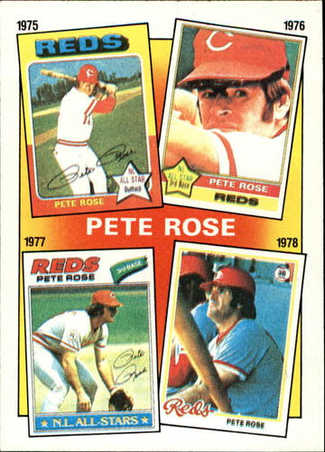 Photo of 1986 Topps #5 Rose Special: '75-'78