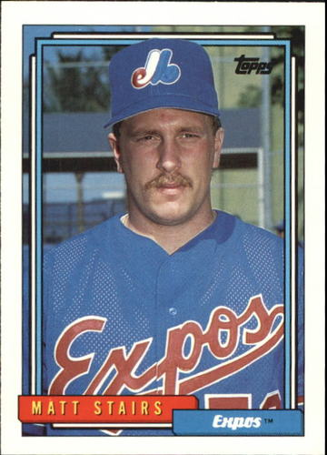 Photo of 1992 Topps Traded #110T Matt Stairs RC