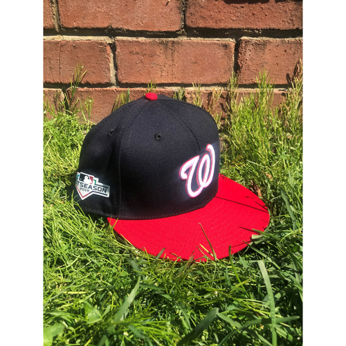 Photo of Victor Robles Game-Used Cap Worn 2019 NLCS