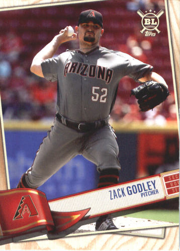Photo of 2019 Topps Big League #27 Zack Godley