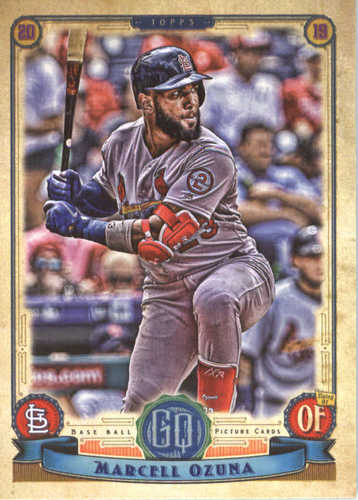 Photo of 2019 Topps Gypsy Queen #84 Marcell Ozuna