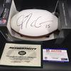 NFL - Jets Josh McCown Signed Panel Ball w/ Jets Logo