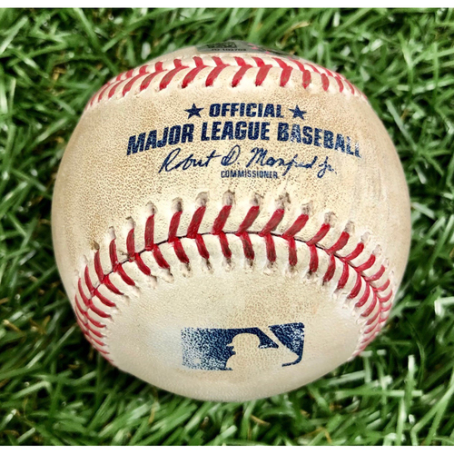 Photo of Game Used Baseball: Mike Zunino Double off Tanner Roark - August 24, 2020 v TOR