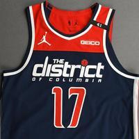 Isaac Bonga - Washington Wizards - Kia NBA Tip-Off 2020 - Game-Worn Statement Jersey