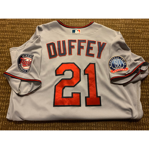 Photo of Tyler Duffey Team-Issued Jersey