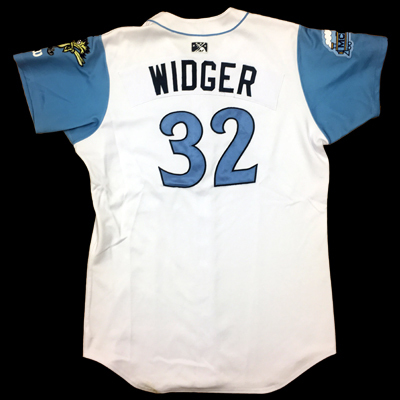 Chris Widger Game Worn Jersey