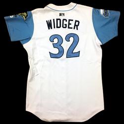 Image of Chris Widger Game Worn Jersey