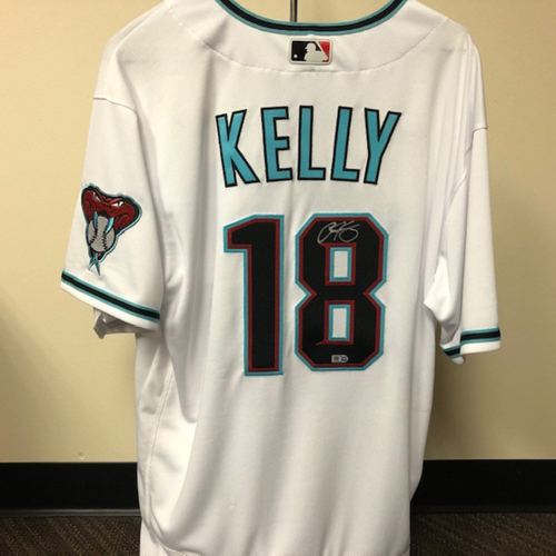 Carson Kelly Autographed Jersey