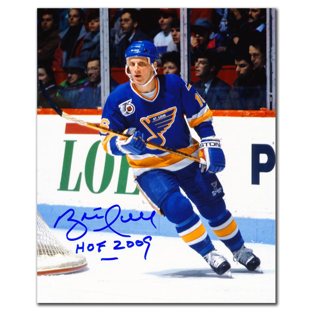Brett Hull St. Louis Blues HOF Autographed 8x10