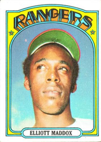Photo of 1972 Topps #277 Elliott Maddox
