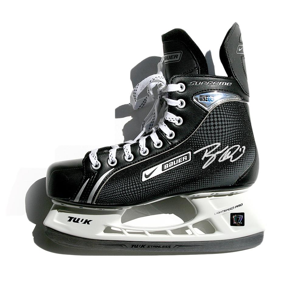 RYAN KESLER Signed Anaheim Ducks Nike Bauer Model Skate