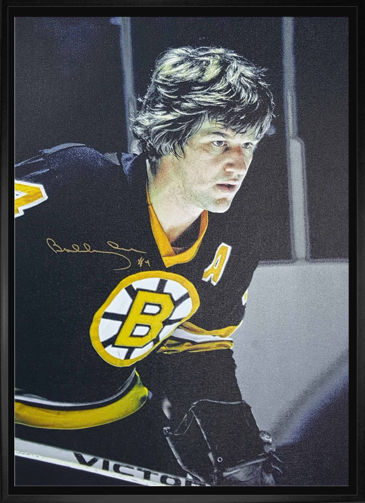 Bobby Orr - Signed & Framed 20x29