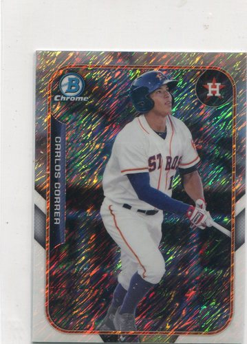 Photo of 2015 Bowman Chrome Farm's Finest Minis #FFMCC Carlos Correa