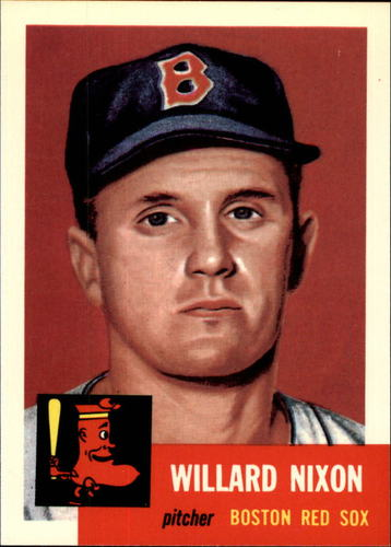 Photo of 1991 Topps Archives 1953 #30 Willard Nixon