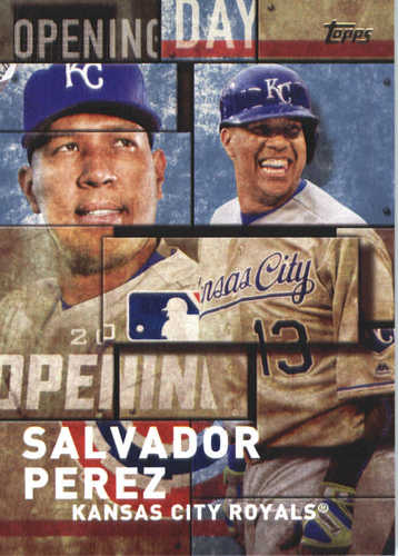 Photo of 2018 Topps Opening Day Insert #OD6 Salvador Perez
