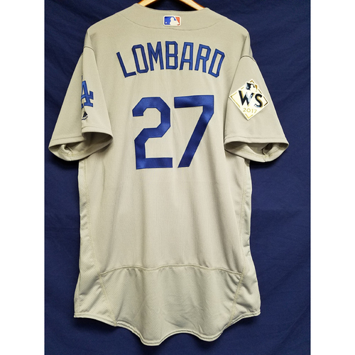 Photo of George Lombard 2017 Road World Series Team-Issued Jersey