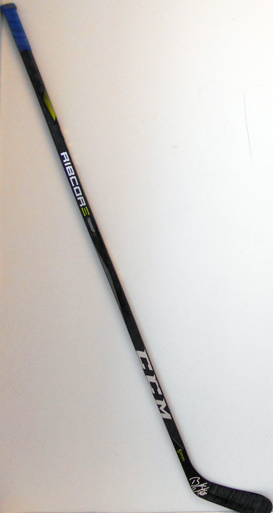 #88 BrandonDavidson Game Used Stick - Autographed - New York Islanders