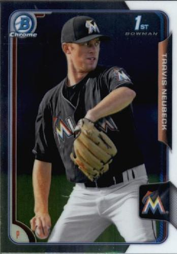 Photo of 2015 Bowman Chrome Draft #78 Travis Neubeck