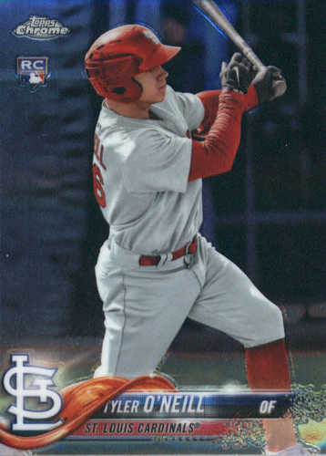 Photo of 2018 Topps Chrome #35 Tyler O'Neill RC