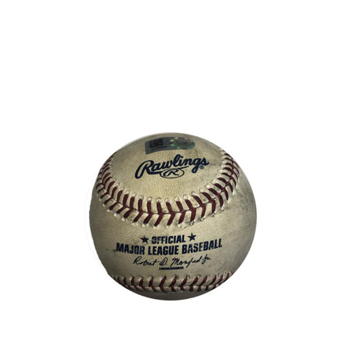 Photo of Game-Used Baseball: 08/24/2016 Pirates vs. Astros: McCutchen Single