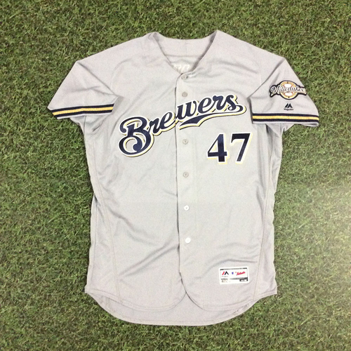 Photo of Jett Bandy 2018 Game-Used Opening Day Jersey