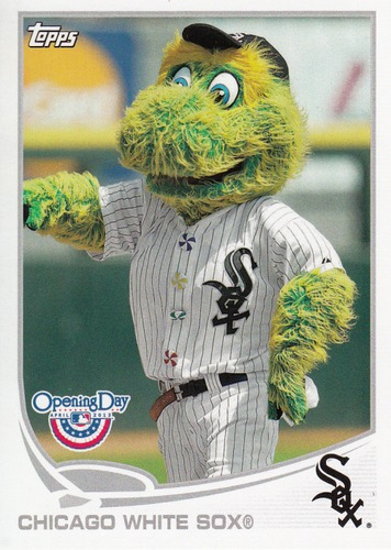 Photo of 2013 Topps Opening Day Mascots #M9 Chicago White Sox
