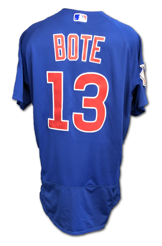 Photo of David Bote Team-Issued Jersey -- Size 44 -- Spring Training 2019