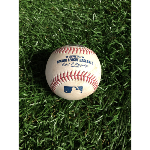 Photo of Game Used Baseball: Cody Bellinger ground out off Adam Kolarek - May 21, 2019 v LAD