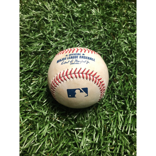 Game Used Baseball: Austin Meadows RBI double off Nathan Eovaldi - July 22, 2019 v BOS