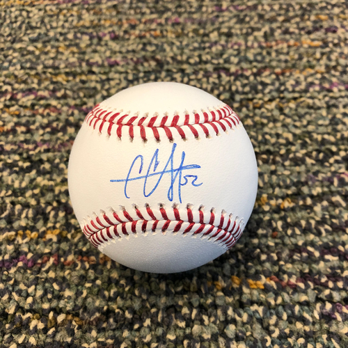 Photo of Buster Posey BP28 Foundation - Autographed Baseball signed by New York Yankees Starting Pitcher CC Sabathia
