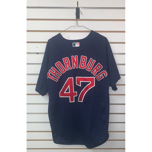 Photo of Tyler Thornburg Team Issued Road Batting Practice Jersey