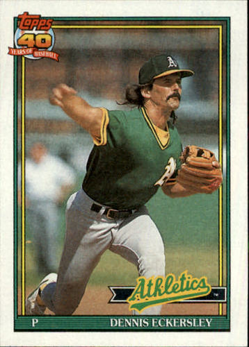 Photo of 1991 Topps #250 Dennis Eckersley