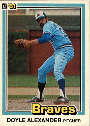 Photo of 1981 Donruss #448 Doyle Alexander