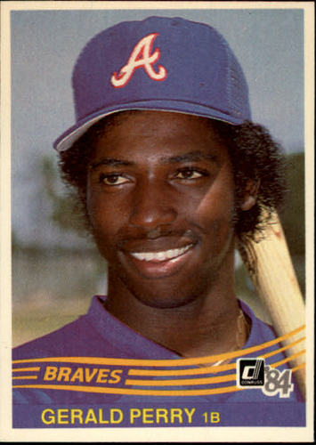 Photo of 1984 Donruss #263 Gerald Perry