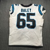 London Games - Panthers Dennis Daley Game Used Jersey (10/13/2019) Size 50