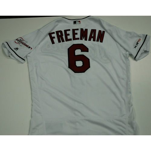 Photo of Mike Freeman 2019 Team Issued Home White Jersey